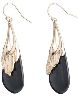 Crystal Studded Pleated Wire Earring You Might Also Like