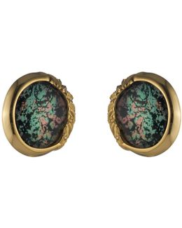 Sculptural Sphere Button Clip Earring You Might Also Like