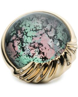 Sculptural Sphere Cocktail Ring You Might Also Like
