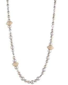 Sculptural Pearl Single Strand Necklace You Might Also Like