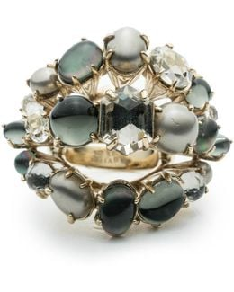 Arrayed Stone Cocktail Ring You Might Also Like
