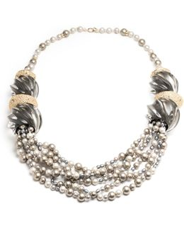 Sculptural Multi-strand Pearl Necklace You Might Also Like