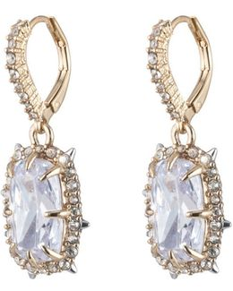 Crystal Framed Cushion Leverback Earring You Might Also Like