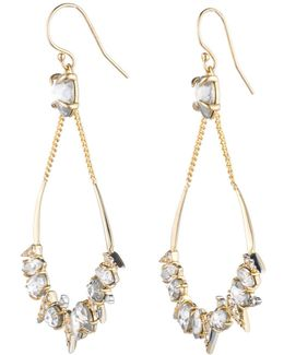 Crystal Encrusted Mosaic Futurist Tear Earring You Might Also Like