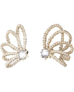 Crystal Lace Orbiting Post Earring You Might Also Like