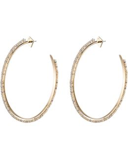 Oversized Crystal Lace Orbiting Hoop Earring You Might Also Like