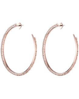 Crystal Lace Orbiting Hoop Earring You Might Also Like