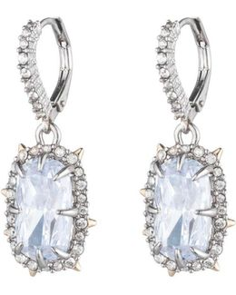 Crystal Framed Cushion Lever Back Earring You Might Also Like