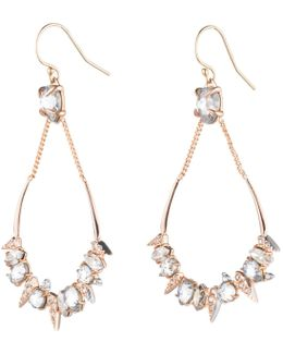 Crystal Encrusted Mosaic Futuristic Tear Earring You Might Also Like