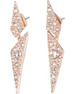 Crystal Encrusted Dangling Origami Post Earring You Might Also Like