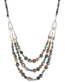 Abstract Buckle Beaded Necklace You Might Also Like