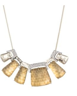 Rocky Metal Statement Bib Necklace You Might Also Like