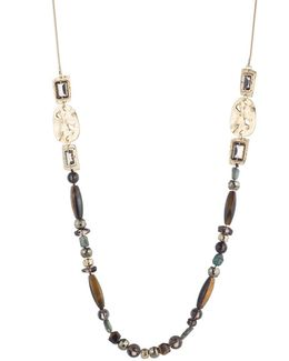 Four Stone Beaded Station Necklace You Might Also Like