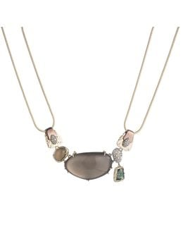 Lucite And Stone Bib Necklace You Might Also Like