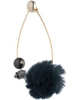 Fur Pom-pom Hoop Clip (single Earring) You Might Also Like