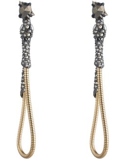 Dangling Snake Chain Post Earring You Might Also Like