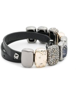 Leather Choker/bracelet With Charms You Might Also Like