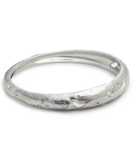 Skinny Tapered Rocky Metal Bangle Bracelet You Might Also Like