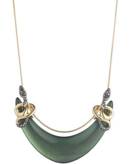 Double Coiled Snake Bib Necklace You Might Also Like