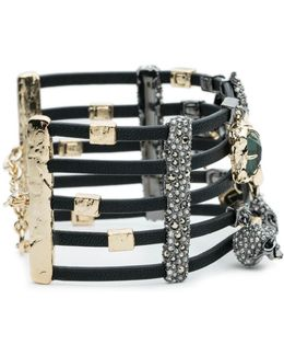 Soft Leather Strand Cuff Bracelet You Might Also Like