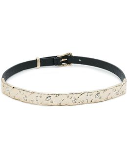 Hinged Leather Choker You Might Also Like