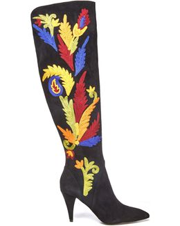 Corin Embroidered Boot