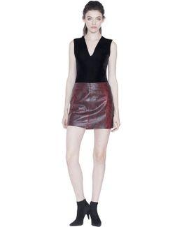 Marley Vneck Sleeveless Bodysuit