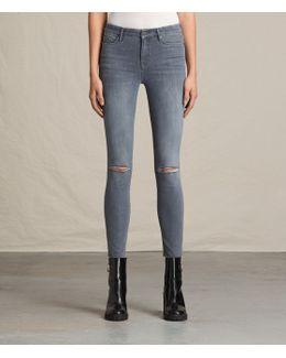 Grace Slashed Jeans