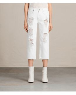 Serene Embroidered Denim Shorts