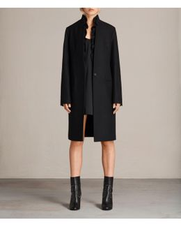 Mae Ruffle Coat