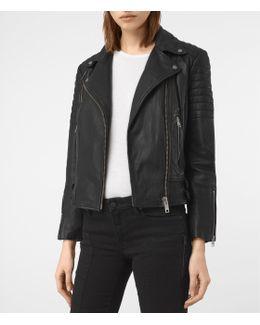 Papin Leather Biker Jacket