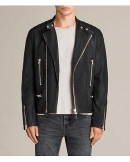 Reimer Leather Biker Jacket