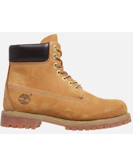 Icon 6 Inch Premium Ftb Leather Boots