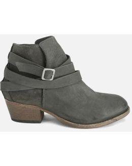 Women's Horrigan Tie Around Leather Ankle Boots