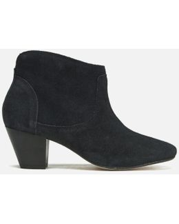 Women's Kiver Suede Heeled Ankle Boots