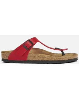 Women's Gizeh Toepost Leather Sandals