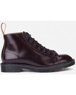 Men's 'made In England' Core Les Lace To Toe Leather Boots