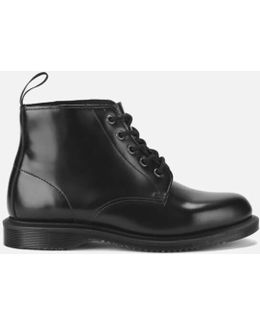 Emmeline Polished Smooth 5-eye Boots
