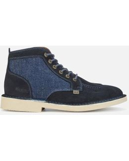 Legendary Suede Lace Up Boots