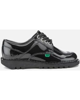 Women's Kick Lo Patent Lace Up Shoes