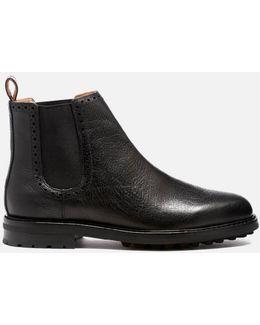 Men's Numan Tumbled Leather Chelsea Boots
