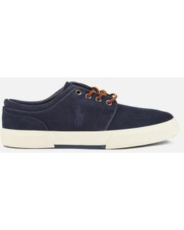 Men's Faxon Sport Suede Low Top Trainers