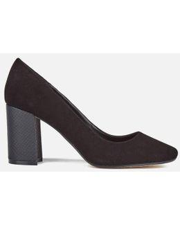 Acapela Suede Court Shoes