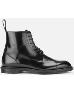 Henley Winchester Polished Smooth 7-eye Zip Boots