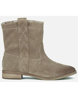 Women's Laurel Suede Pull On Slouch Boots