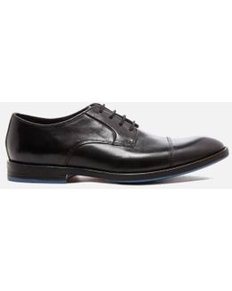 Prangley Cap Leather Derby Shoes