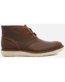 Fayeman Hi Beeswax Leather Chukka Boots
