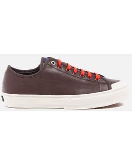 Men's Colston Leather Court Trainers