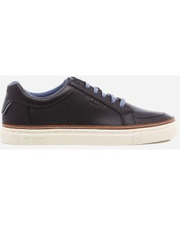 Men's Rouu Leather Cupsole Trainers
