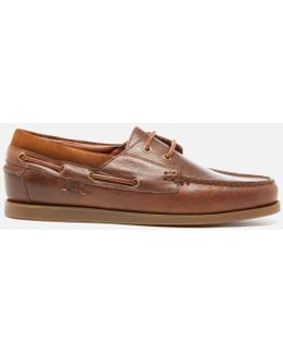 Men's Dayne Leather Boat Shoes